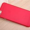 *Special Sale* Case iPhone 6 กึ่งโปร่งแสง สีแดง