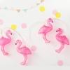 ไฟประดับราวรูป Flamingos สีชมพู