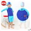 VIVO-BINIYA ชุดว่ายน้ำเสื้อแขนยาว+กางเกง+หมวก ขนาด 10T