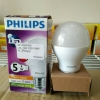 หลอดไฟ LED E27 Bulb ขนาด 5W 220V Warm White PL (Philips)