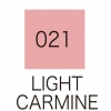 ปากกาสี 2 หัว ZIG CLEAN COLOR No.021 - Light Carmine