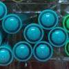 ปากกาไฮไลท์ Monami Colorful Day - No.09 Mint Green
