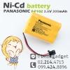 Panasonic P-P102 3.6V 300mAh Ni-Cd TYPE-22 N4HKGJB00001 แบตเตอรี่ โทรศัพท์ไร้สาย พานาโซนิค