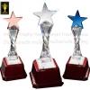 CS-0913 ถ้วยรางวัล ดาว STAR Crystal Award & Premium