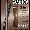 HF207 ดินสอเขียนคิ้ว+อายไลเนอร์ ของแท้ Sivanna Shaping Eye Makeup