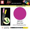 XBR-221 Rose Red - SAKURA Koi Brush Pen