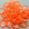 รุ่นลิมิเต็ดทรงโดนัท(Smaller Size) สีส้มนีออน 300 เส้น (DO)