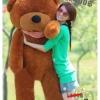 ตุ๊กตาหมีน้ำตาลเข้มหลับตา1.4 เมตร