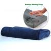 หมอนถ่านไม้ไผ่เพื่อสุขภาพ (PL-011) หมอนถ่านไม้ไผ่ หมอนเมมโมรี่โฟม หมอนกำมะหยี่ ทรงคลื่น S Curve (Charcoal Pillow)