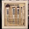 BR1706 เซตแปรงแต่งหน้า ของแท้ Sivanna Lavish Collection Deluxe Face&Eye Set