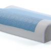 หมอนเพื่อสุขภาพ (PL-001) พร้อมส่ง หมอนสุขภาพ รองคอ รองกระดูกคอ Memory foam พร้อมเจลเย็น (Cool Gel) แก้ปวดคอ(หมอนเย็น)