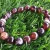 สร้อยข้อมืออาเกต ( Agate ) หินมลคลดวงตาสวรรค์ มั่งคั่งร่ำรวย