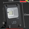 LED Solar Flood Light 10W พร้อมแบตเตอรี่ 5200mAh