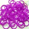 รุ่นลิมิเต็ดทรงโดนัท(Smaller Size) สีม่วง 300 เส้น (DV)