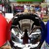 หมวกกันน็อค Falcon (ทรง Titan1) สีดำเงา