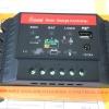 ตัวควบคุมการชาร์จแบตเตอรี่ แบบ PWM ขนาด 20A 12/24V with LED display and USB (QWS)