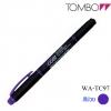Tombow Kei-coat Twin Head Highlighter - Purple สีม่วง