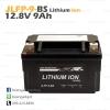 แบตเตอรี่ลิเธียม มอเตอร์ไซต์ RR YTX9-BS JLFP-9-BS 12.8V 150CCA LiFePO4