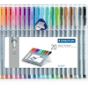 STAEDTLER Triplus 334 Set 20 Color