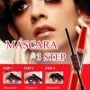 Sivanna Colors Waterproof Mascara 3 Step HF893 มาสคาร่ากันน้ำ โปรโมชั่นสุดถูก