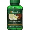 Puritan Coconut Oil 1000 mg120 Softgels น้ำมันมะพร้าวสกัดเย็น แบบเม็ดนิ่ม ซึมไว Softgel จาก USA
