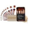 งานแท้ Sivanna BR189 ซีเวียน่า ชุดแปรงแต่งหน้า 12 ชิ้น ขนาดพกพา Story Brush Make Up Set
