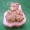 แม่พิมพ์ รูปหมี 3D 75g