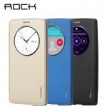เคสฝาพับ LG G4 ของ Rock Touch Series Leather Case