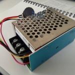 ตัวควบคุมการชาร์จแบตเตอรี่ แบบ PWM DC Motor Speed Controller 10-55V 60A