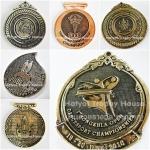 เหรียญรางวัล/กีฬา ชุบแววสีรมดำ