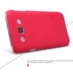 เคส Samsung Galaxy E5 ของ Nillkin Duper Frosted Case - สีแดง