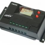 โซล่าชาร์จเจอร์ เครื่องควบคุมการชาร์จ หน้าจอ LCD - Solar Charge Controller 10A auto 12/24V