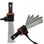 ไฟหน้า LED ขั้ว H11 Cree 2 ดวง 40W Turbo No Fan