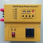 Inverter (หม้อแปลงไฟฟ้าพร้อม Charge Controller) รุ่น MSW 500W 12V P15A