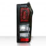 โคมไฟท้าย LED All new D-Max แบบ 3 โคมดำ