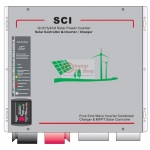 เครื่องแปลงไฟรถเป็นไฟบ้าน Hybrid Pure Sine Wave + MPPT (SCI Series) รุ่น 1000W
