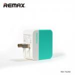 ที่ชาร์จไฟ 2 USB REMAX Charger 3.1A Pastel - Green เขียว