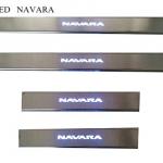 สคัพเพลท Nissan Navara มีไฟ LED