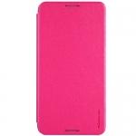 เคส HTC Desire 816 Nillkin Sparkle Case - แบบฝาพับสีชมพู