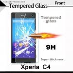 กระจกนิรภัย Xperia C4 แบบ Tempered Glass Screen Protector Protective
