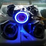สปอร์ตไลท์ โปรเจคเตอร์ LED มีไฟขอบ