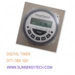 Digital Timer(นาฬิกาตั้งเวลา) แบบ DTT ขนาด 16A 12V