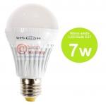 หลอดไฟ LED HOSHI E27 7W (WW) แสงสีเหลือง