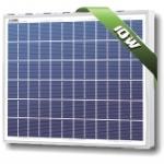 แผงโซล่าเซลล์ Solarland ชนิด Polycrystalline Silicon ขนาด 10W รับประกัน 10 ปี