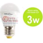 หลอดไฟ LED HOSHI E27 3W (WW) แสงสีเหลือง