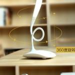 โคมไฟตั้งโต๊ะแอลอีดี Remax Milk Series Protect Light LED USB