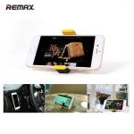 Remax Car Holder RM-C01 (แบบเสียบช่องแอร์รถยนต์) สีดำ