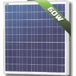 แผงโซล่าเซลล์ Solarland ชนิด Polycrystalline Silicon ขนาด 60W รับประกัน 10 ปี