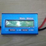 ดีซีวัตต์มิเตอร์ (DC Watt Meter) สำหรับงานทางไฟฟ้าและโซล่าเซลล์