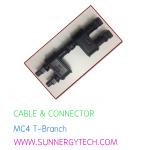 Cable & Connector (ตัวเชื่อมสายไฟ) แบบ MC4 -T ฺBranch
